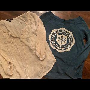 American Eagle lot of 5 shirts